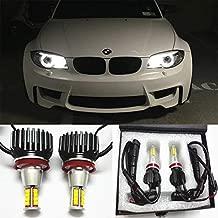 GFJMC 63217760782 Angel Eyes H8 160W CREE LED Marker Halo Light with Fan Dissipation Error Free Canbus CREE LED Marker Halo Light for BMW E82 E93 E92 E89 E70 E71 X6 Z4 M6 M3 F01 F02 730i 740i 750i