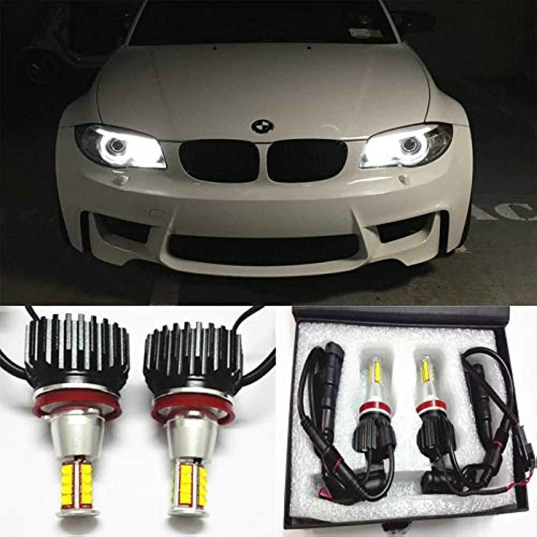 GFJMC 63217760782 Angel Eyes H8 160W CREE LED Marker Halo Light Error Free Canbus CREE LED Marker Halo Light for BMW E82 E93 E92 E89 E70 E71 X6 Z4 M6 M3 F01 F02 730i 740i 750i