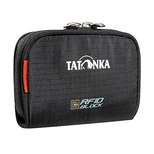 Tatonka Plain Wallet RFID B Reisezubehör-Brieftasche, Black, 11 x 7 x 2 cm