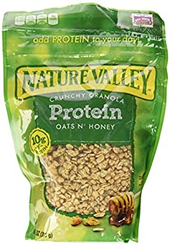 Nature Valley High Protein Granola Oats and Honey 11oz Bag  Pack of 4