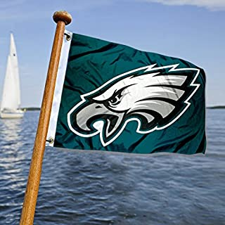 WinCraft Philadelphia Eagles Boat and Golf Cart Flag
