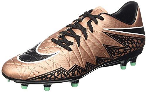 Nike Herren Hypervenom Phelon II FG Fußballschuhe, Schwarz (Schwarzgold), 42 EU