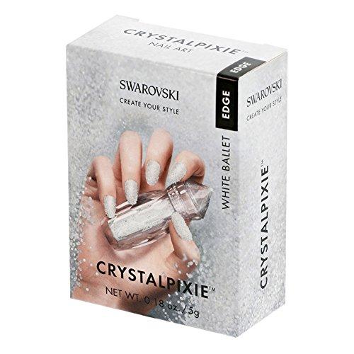 Swarovski Crystal Pixie Edge Nail Box 5g White Ballet
