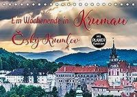 Ein Wochenende in Krumau (Tischkalender 2022 DIN A5 quer): Krumau - Cesky Krumlov erleben (Geburtstagskalender, 14 Seiten )