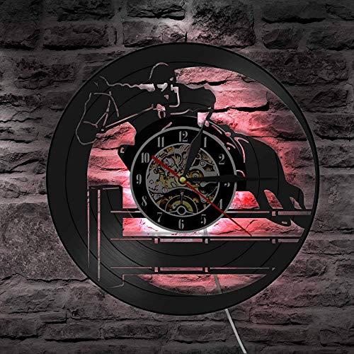 fdgdfgd Reloj de Pared de Disco de Vinilo de Deportes ecuest