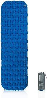 Ultralight Sleeping Pad, lesgos Portable Camping Inflatable Sleep Mat, Waterproof Compact Folding Air Mattress for Backpac...