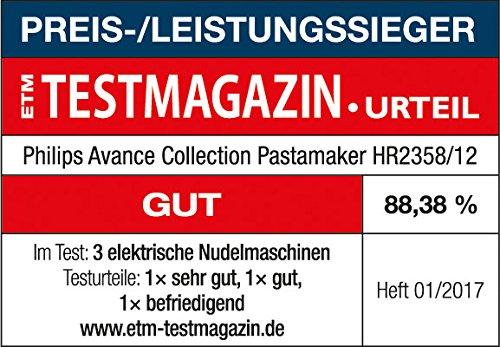 Philips HR2358/12 Pastamaker (Wiegefunktion, 8 Formscheiben) - 7