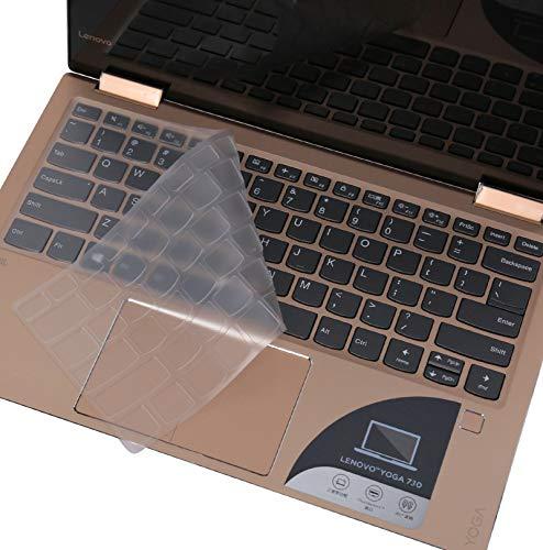 Lenovo Yoga 920 13.9' Keyboard Skin Ultra Thin Soft TPU Material Keyboard Protector for Lenovo Yoga 920 13.9 Inch / Yoga C930 / Yoga 6 Pro, Clear TPU