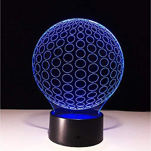 3D lamp usb led nachtverlichting voetbal lamp touch nacht LED-lamp verlichting voor onder keukenkasten remote telefoon Bluetooth control kleur