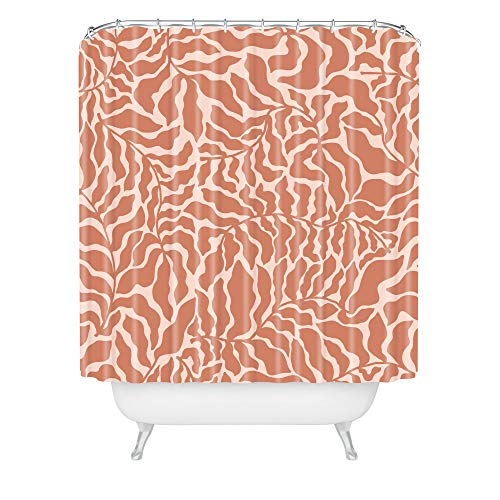 """Society6 Abundance Rose Pink Beshka Kueser Shower Curtain, 72"""" x 69"""""""