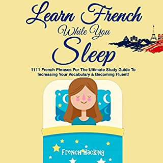 Learn French While You Sleep audiobook cover art