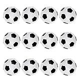 chiwanji Paquete de 12 Bolas de Futbolín de 36 Mm de Repuesto para Juego de de Fútbol