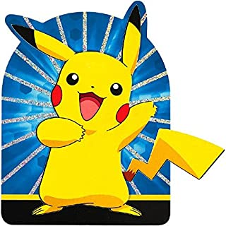 "Pokémon Pikachu & Friends Deluxe Jumbo Postcard Party Invitation, Paper , 8"" x 6"", Pack of 8"