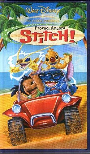 DR6 Provaci ancora Stitch VHS Walt Disney