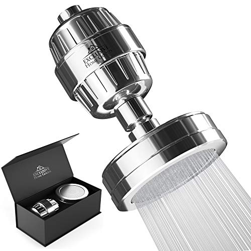 Amazing Deal Luxury Shower Filter Water Purifier - 15 Stage Shower head Water Softener - Remove Chlo...