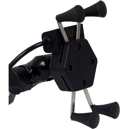 DECORVAIZ Bike Mobile Charger Universal Bike Cell Phone Spider Bike Multi-Functional Mobile Holder X Grip Handlebar