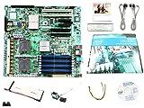 New Intel S5000PSLSATA 8 Memory Slots DDR2 SDRAM LGA771 Socket USB RJ-45 5000P Chipset MotherBoard