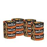 Gorilla Tape、ブラック ダクトテープ、1.88インチ x 12ヤード、ブラック 12 Pack 6001203-12 12