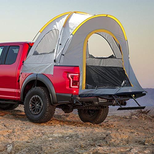 BEPM Heck Zelt Campingzelt Autozelt Pickup Truck Zelt Outdoor Camper Heckzelt Auto Angeln Zelt Dachzelt Outdoor Camping Zelt