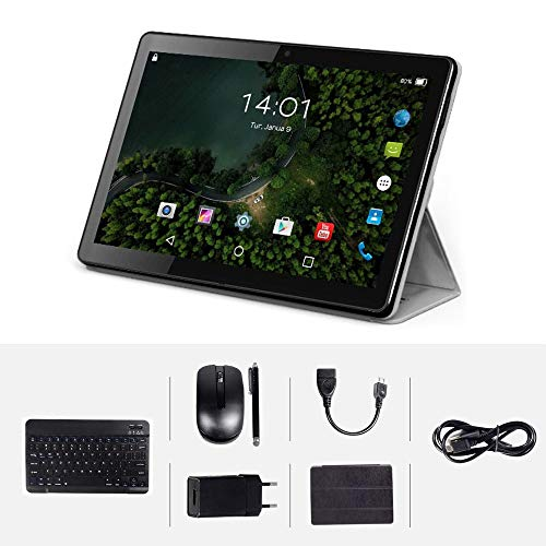 Tablet touch da 10 pollici, Android 32 GB ROM, 3 GB RAM Tablet Dual SIM GPS, Wi-Fi,...
