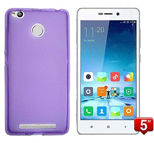 Todobarato24h Funda TPU Lisa Compatible con Xiaomi REDMI 3 Pro / 3S Morada