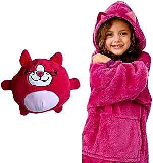can Store Blankets, Sweatshirts, pet Hoodies, Stuffed Animals Turn into Ultra-Dalian Hood Sweatshirts with Giant Pockets, ...