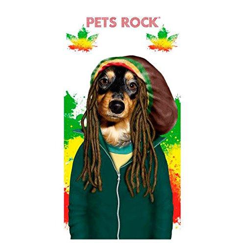 ASTRO EUROPA Toalla Pets Rock Perro Rastas