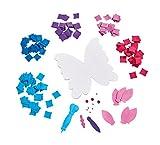 Simba 106304031 - Art & Fun Filzbasteln Schmetterling -
