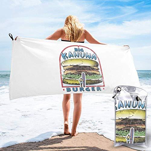Lucky girlfriend Big Kahuna Burger Unisex Schnelltrocknende Badetücher, Mikrofaser Schwimmbad Strandtücher.