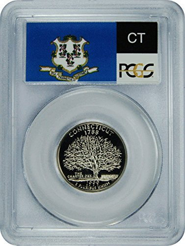 1999 S Connecticut Statehood Connecticut Statehood Quarter DCAM PCGS PR-70