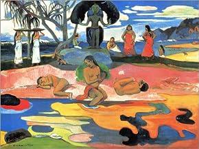 Posterlounge Cuadro de Madera 40 x 30 cm: Mahana no atua (Day of God) de Paul Gauguin