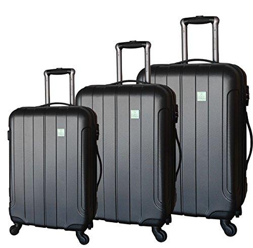 Saxoline Set di valigie, nero (Nero) - 1258H0.18.89