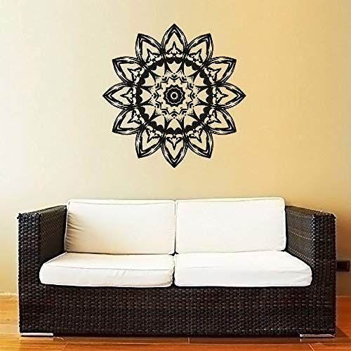 Geiqianjiumai Mandala applicatie vinylraamsticker voor woonkamer plakfolie