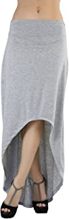 ToBeInStyle Women's High-Low Maxi Skirt
