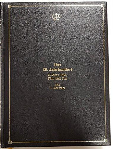 Das 20. Jahrhundert in Wort, Bild, Film und Ton --10 Jahrzehntbände inkl. Tonfolien-Generalindex-CD und Begleitbuch-Phonobox (Abspielgeräte für Tonfolien) ohne Batterien