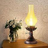 Ingeniously Retro Laterne Petroleumlampe Kreative Ornamente Wandleuchte für drinnen und