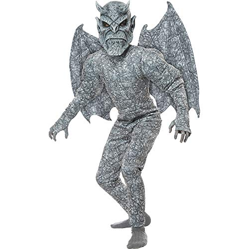 California Costumes Boys Ghastly Gargoyle Child Costume, Gray, Large