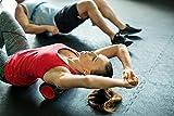 Massagerolle Foamroller Pilatesrolle Schaumstoffrolle Yogarolle Balancerolle Selbstmassagerolle Faszien-Training von POWRX ca. 33 cm - 6