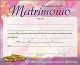 Certificado De Matrimonio Pak De 20