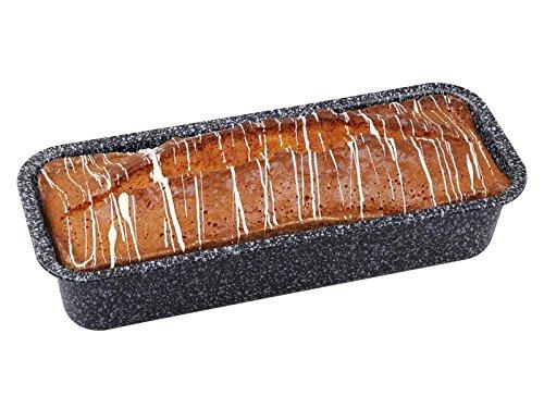 chg 3507-16 30er-Kastenform Granito, Skandia Xtreme Plus: 4-fach Antihaftbeschichtung in Granitoptik, 32 x 13 x 7 cm