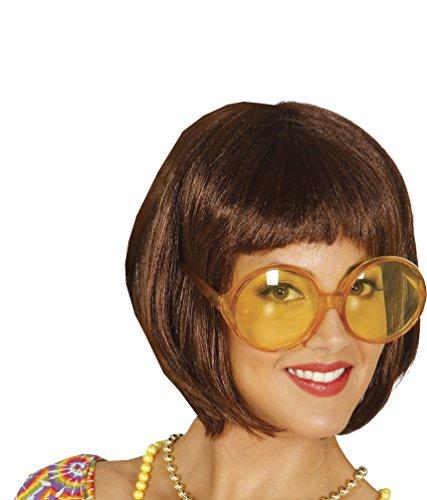 Guirca- Gafas redondas grandes secretaria, Color amarillo (16231.0)