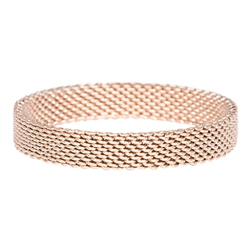 iXXXi Füllring MESH rosé - 4 mm Größe Ringgröße 19
