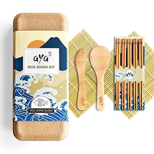 AYA ECO Kit à Sushi - Kit 100% Biodégradable et...