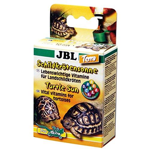 JBL Schildkrötensonne Terra 70442 Vitamine für Landschildkröten Flüssig, 10 ml