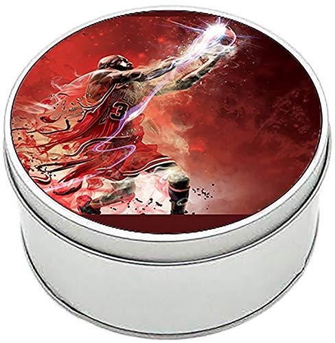 MasTazas NBA 2K12 Caja Redonda Lata Round Metal Tin Box