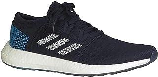 adidas Pureboost Go Black/White/Cyan Blue Running Shoes (EE4675)