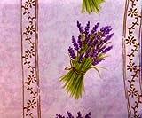 MCTISSUS-Tischdecke lavandou Violett, 2 m x 1,5 m,
