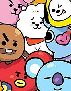 KPOP CUTE BT21 CHARACTER DAILY PLANNER FOR BTS ARMYs and FANGIRLS: PERSONAL DAILY DIARY TO INSPIRE EVERYDAY ACTIVITY FOR GIRLS, TEENS AND YOUNG ENTREPRENEURS