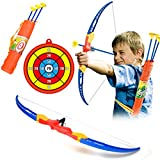 CT-Tribe niños Arco y Flechas Juguete Tiro con Arco para niños