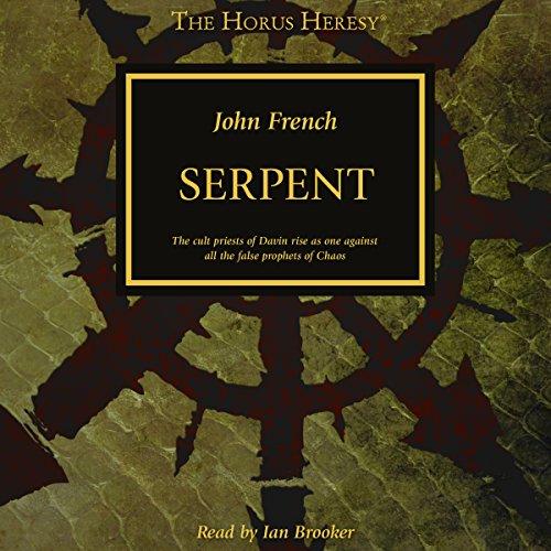 Serpent audiobook cover art